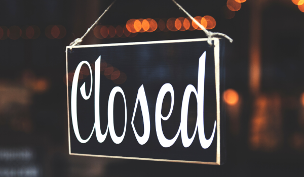 Office closed during COVID-19 Crisis